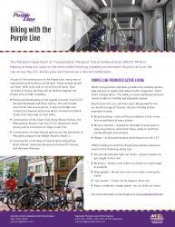 Preview of Biking with the Purple Line