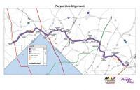 Preview of Purple Line Alignment Map