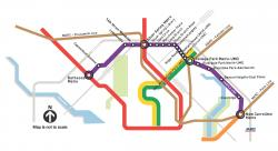 Preview of Purple Line Transit Map